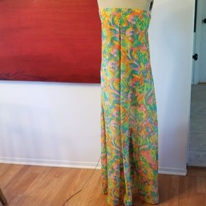 Show me your mumu cut out back maxi